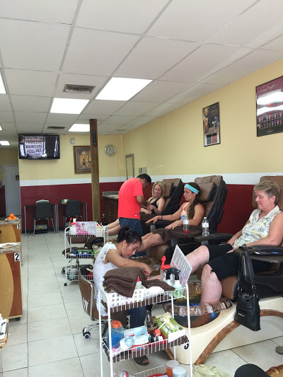 Salon Photo Nail Salon Galveston Nail Salon 77551